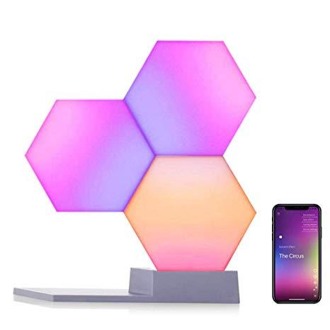 Sistema Illuminazione Smart Cololight PRO Kit 3 pcs RGBW Alexa Google Home WiFi Music Effect