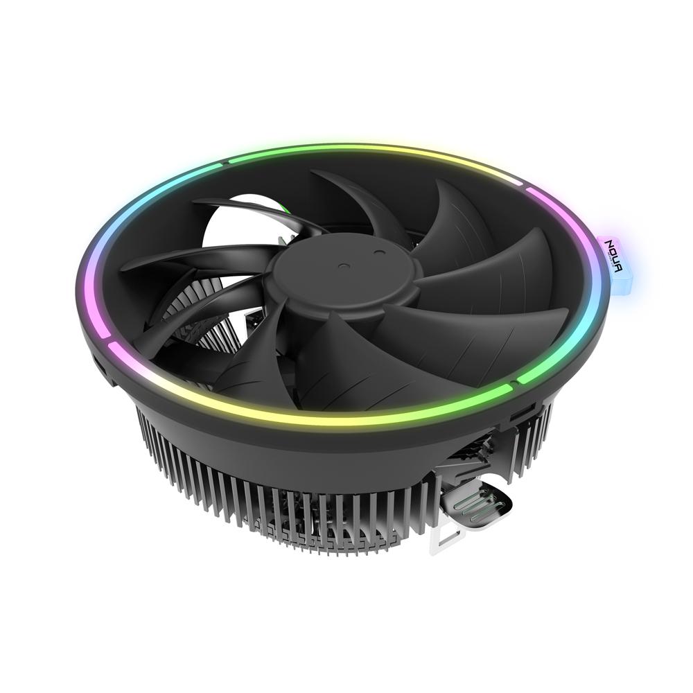Dissipatore Noua Pulse Rgb Rainbow Support Cpu Intel 775 1151 1150 1155 1156 1366 Amd Am3 Am4 Fan 120mm Halo