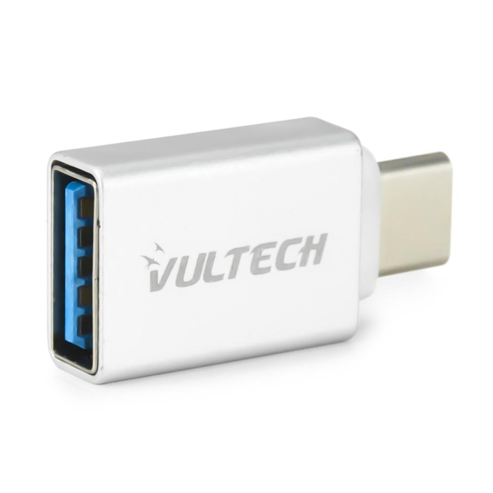 Adattatore Vultech ADP-02 USB 3.0 to Type C - Alluminio