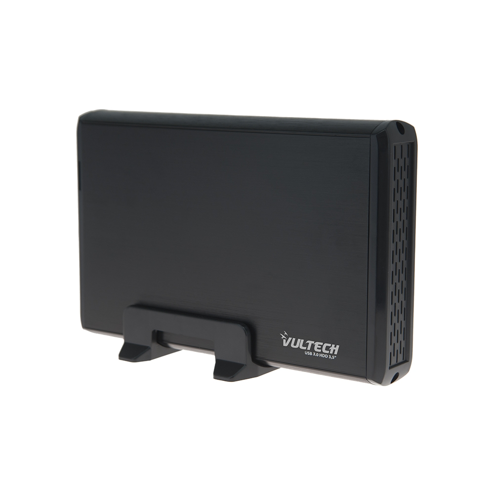 Box per Hard Disk 3,5'' Pollici Sata Vultech GS-35U3 Usb 3.0 Black