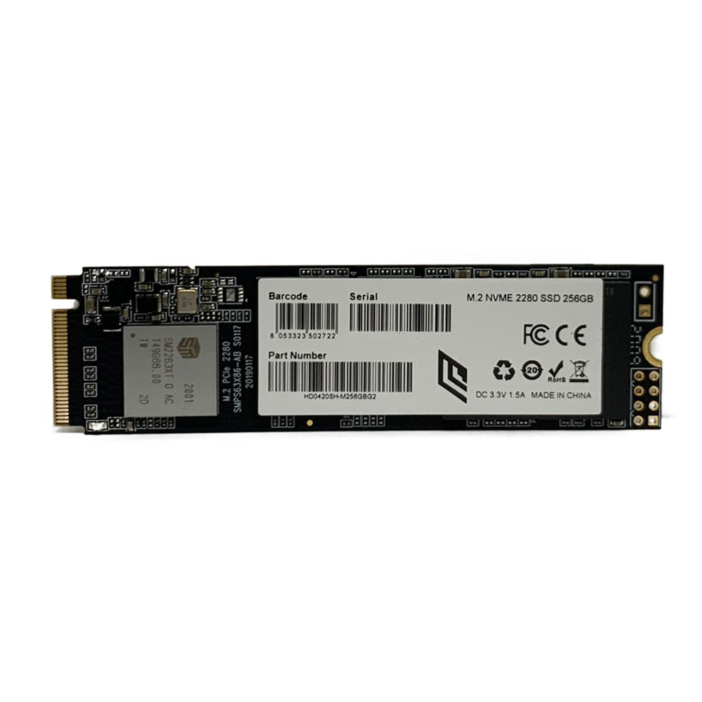 Hard Disk SSD 256GB Noua Ghost M.2 PCIe 2280 NVMe Lettura 1765MB/s Scrittura 950MB/s