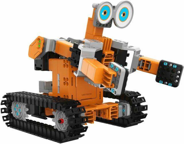 Kit TankBot Jimu Robot Ubtech Sistema Robotico Interattivo Intelligente di Costruzione Con Sensore Infrarossi Controllo IOS & Android