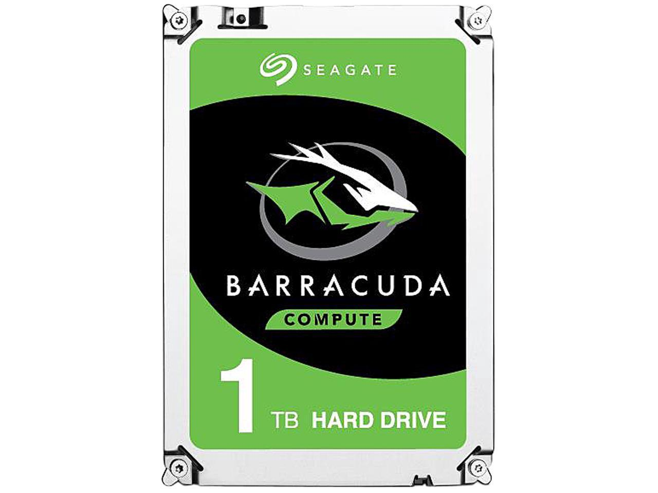 Hard Disk Interno 3,5 Seagate Barracuda 1000gb 1tb Sata 6.0Gb/s ST1000DM010 64mb 7200rpm
